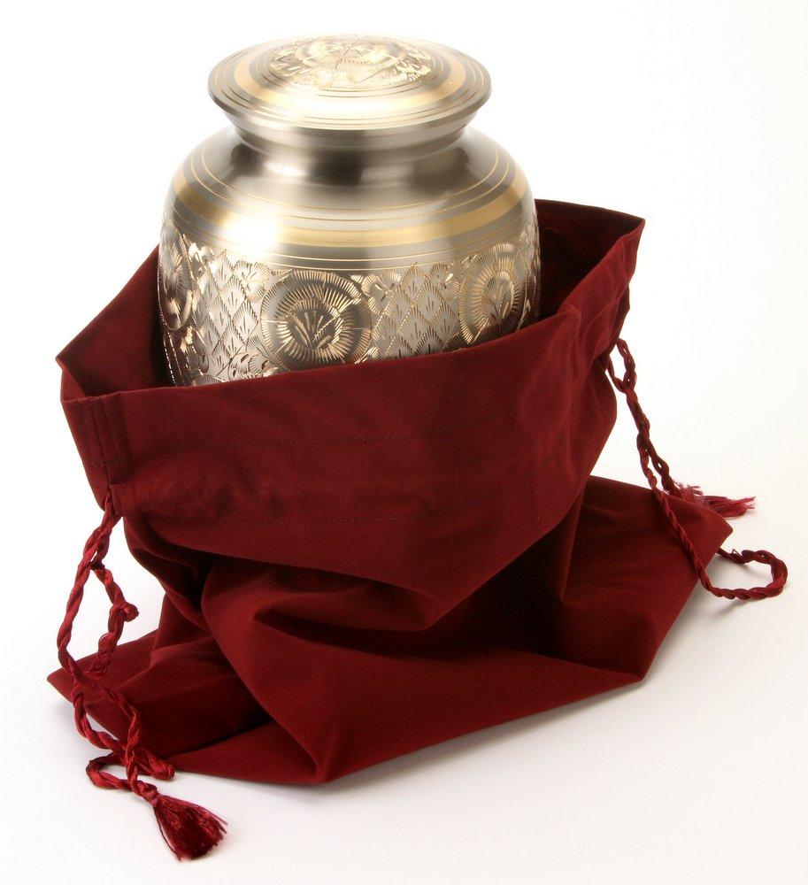 Urns UK Housse en velours pour urne funéraire Taille L UU700004A