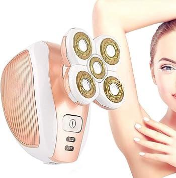 Afeitadora eléctrica para mujer, recortadora húmeda y seca para un ...