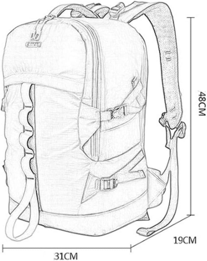 ZZJJPP Oxford Large Capacity Professional DSLR//SLR Backpack Camera Rucksack Multi Function Waterproof Anti-Shock Gadget Photography Travel Rucksack Sony Olympus Color : Orange, Size : L