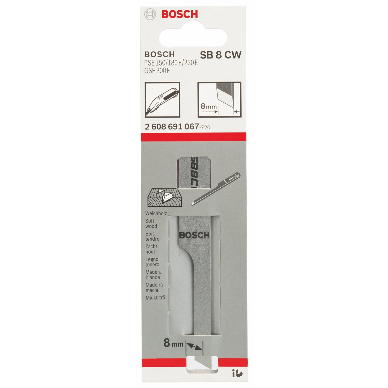 Bosch Stechbeitel SB 8 CW
