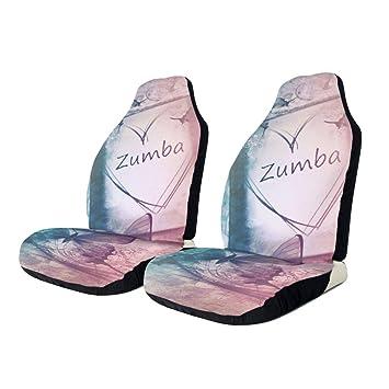Amazon.com: Dreamfy Zumba - Fundas de asiento delantero de ...