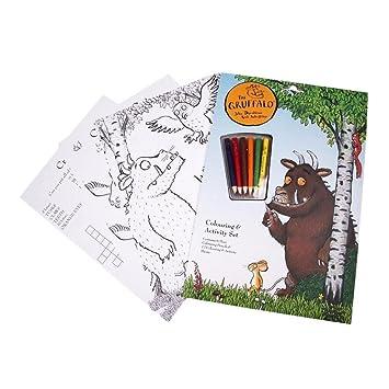 El Gruffalo La coloración y Actividad Set - Lápices y hojas de ...