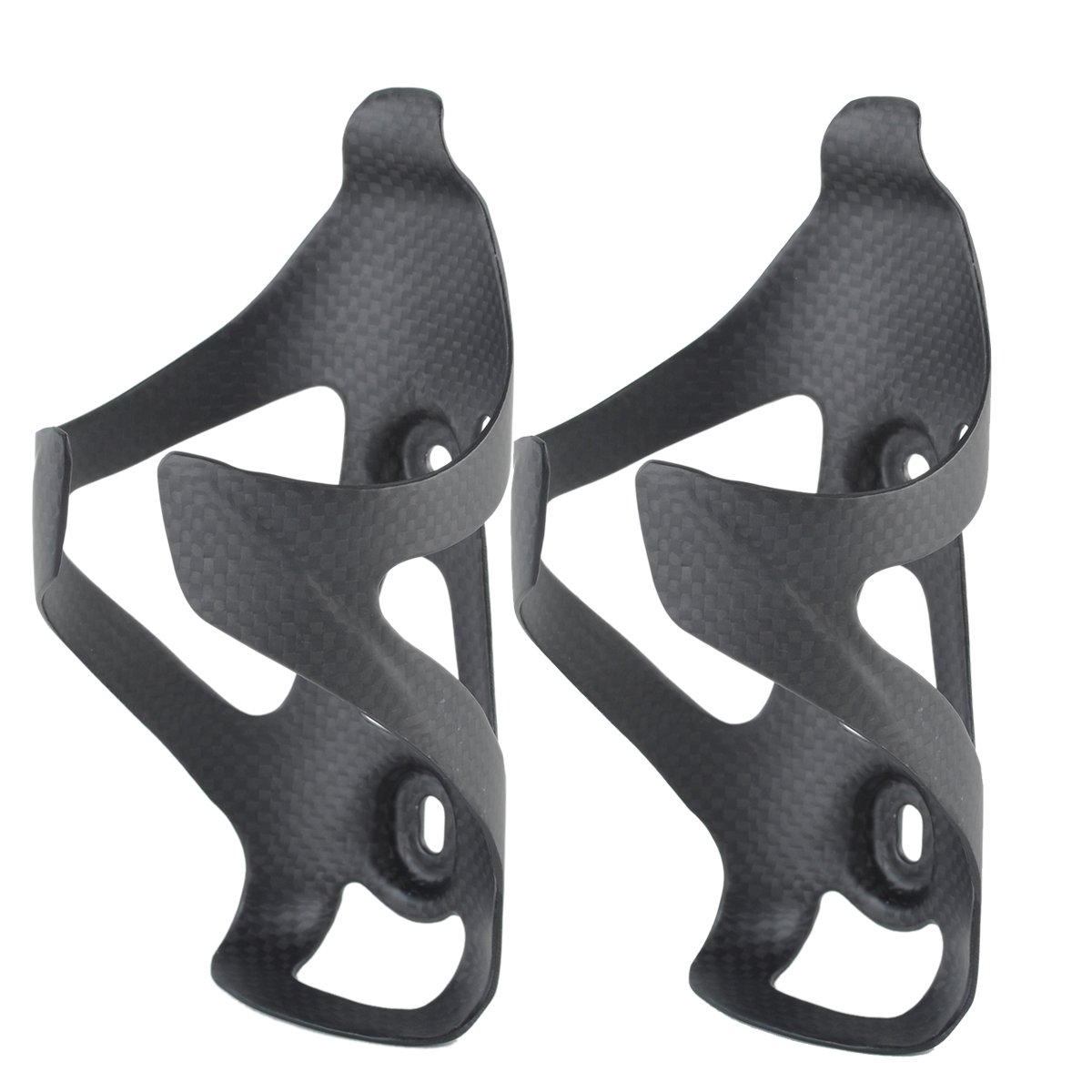 Anjoy Ultra Light Full Carbon Fiber Bicycle Bike Water Bottle Cage Holder for Road Bike MTB by Anjoy