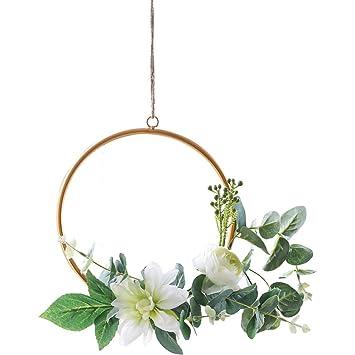 Attraktiv WENZHE Gefälschte Pflanze Künstliche Blumen Heimzubehör Charme Simulation  Seidenblume Riemen Balkon Erkerfenster Wand Dekoration, 3