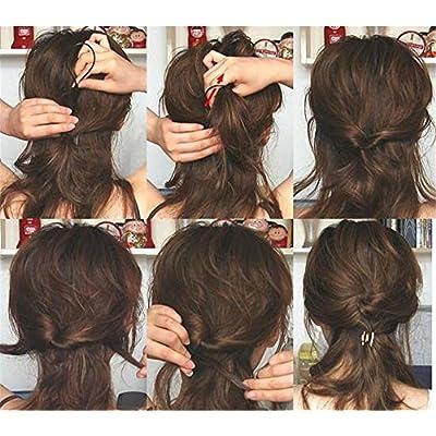 DW Hair Styling Tools Set Fashion Hair Design Styling Tools Accessories Kit Simple Fast Spiral Hair Braid Hair Braiding Tool: Clothing