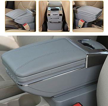 Apoyabrazos Para V olkswagen Polo 9N 2010-2019 Reposabrazos Con Cenicero y Portavasos Consola Central Almacenamiento Caja Auto Accesorios Beige