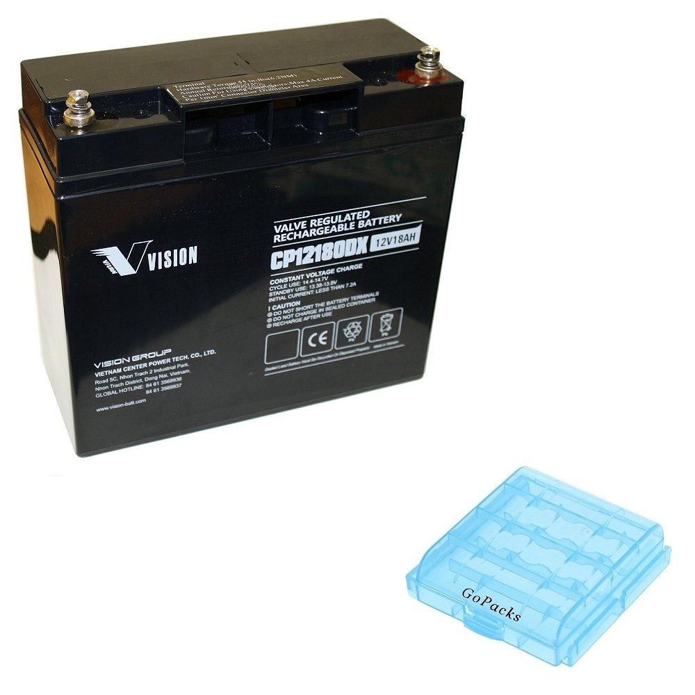 Batería de plomo gel Vision cp12180dx PB Tecnología AGM 12 V ...