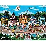 Circus Pandemonium Puzzle by Jane Wooster Scott - 300 Pieces
