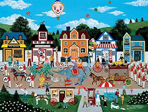 Circus Pandemonium Puzzle by Jane Wooster Scott - 300 Pieces ()