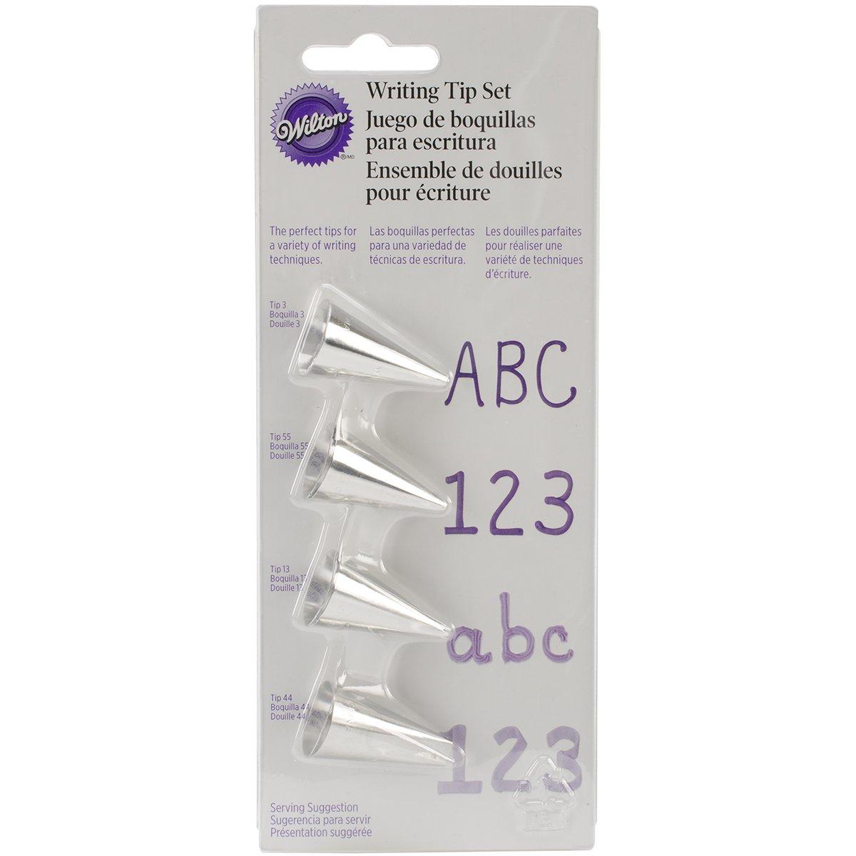 Wilton 418-4566 4-Piece Writing Tip Set