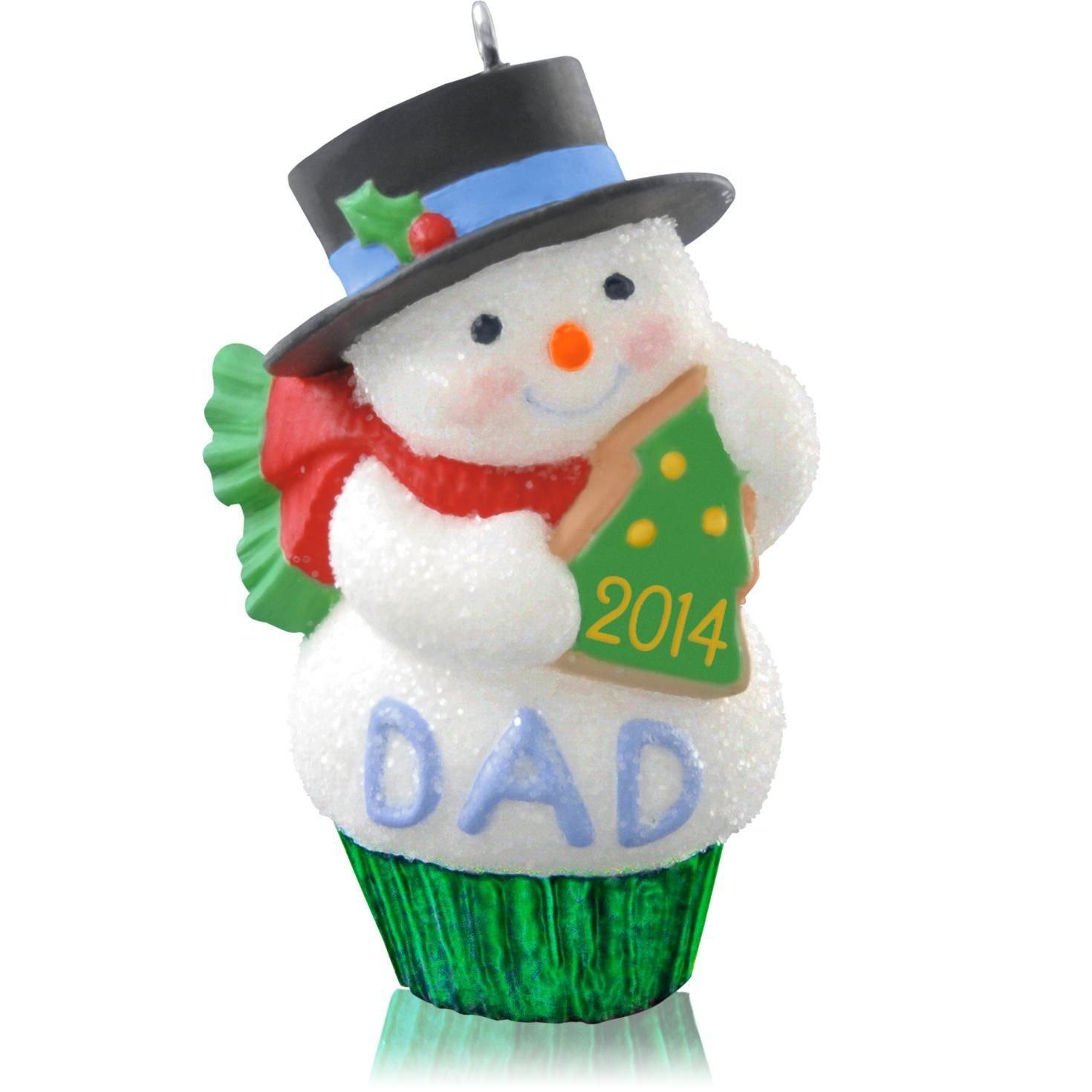 amazoncom hallmark qgo1093 dad 2014 hallmark keepsake ornament everything else - What To Get Dad For Christmas 2014