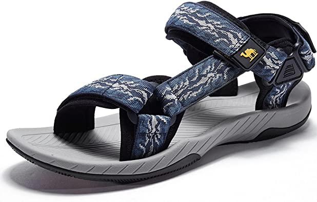 Amazon.com | CAMELSPORTS Mens Athletic Sandals Outdoor Strap Summer Beach  Fisherman Water Shoes | Sport Sandals & Slides