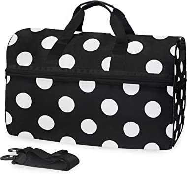 Travel Gym Bag Happy Valentines Floral Love Casual Fashion Bag With Shoes Compartment Foldable Duffle Bag For Men Women