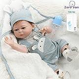 Zero Pam Bebes Reborn de Silicona Cuerpo Completo Muñecas para bebés realistas Hechas a Mano niños anatómicamente…