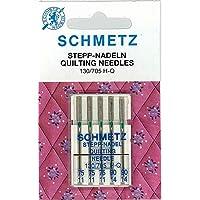 Schmetz Nähmaschinennadeln 130/705 H-Q Quilting Nadeln - 5Nadeln Stärke 75-90