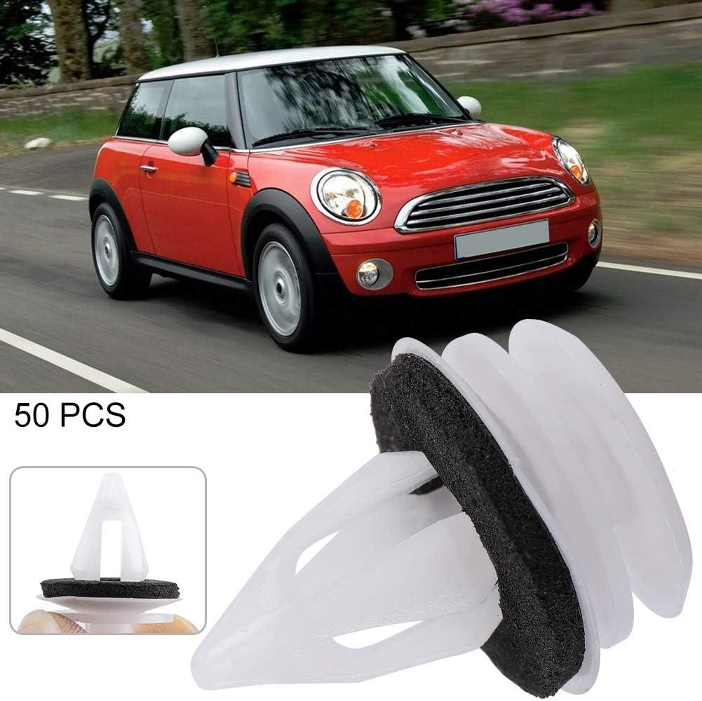 10Pcs Clips de garniture de panneau de porte avant et arri/ère pour int/érieur de voiture Kit de rivets de fixation de fixation pour Mini Rivets de panneau de porte