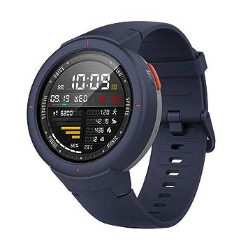 Amazfit Verge Smartwatch,GPS Integrado,Rastreador de Actividad,RAM 512M,ROM 4GB,1.30