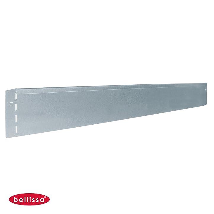 10 St. Rasenkante Rasenkanten Metall verzinkt 118x13 cm ...
