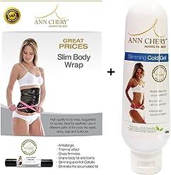 4144062685 Ann Cherry B00RUC3JS6 Ann Chery Slim Body Wrap for Use with Waist Trainer  Cincher