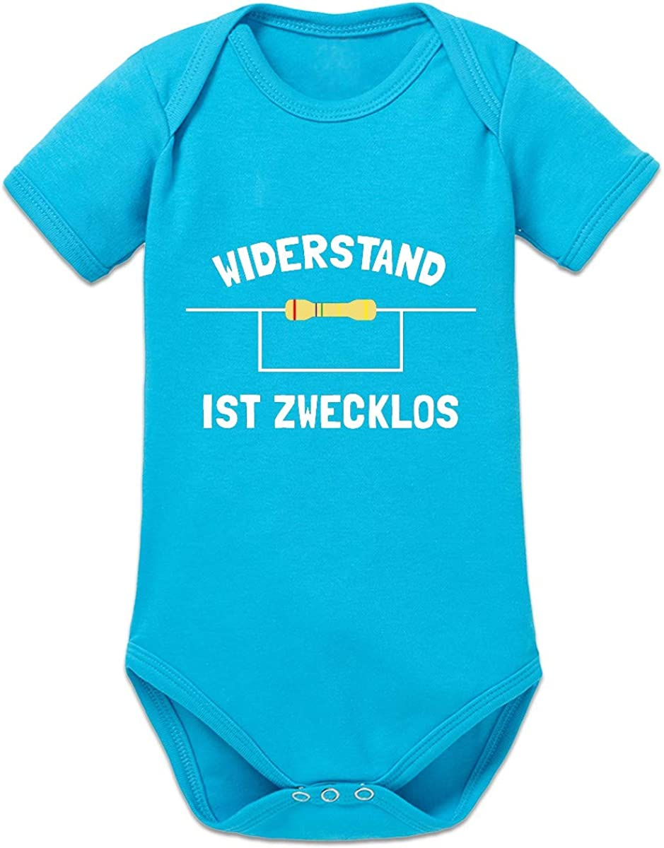 Shirtcity Widerstand ist zwecklos Baby Strampler by