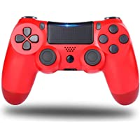 PS4 Controller,Wireless Game Controller with Dual Vibration/6-Axis Gyro Sensor, Gamepad Joystick Compatible with…