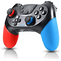 Enouvos Switch Controller Wireless Switch Pro Controller Gamepad Joypad for Nintendo Switch Console and PC Supports Gyro Axis and Dual Vibration