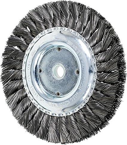 Pferd 81881 Single Row Power Knot Wire Wheel Brush With Standard