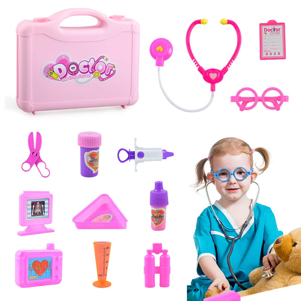 Shmily Toy for 3-12 Year Old Girls Kids, Doctor Kit for Kids for Kids Boys Girls House Doctor Toy Present for Girls 2-8 Years Old Medical Kit Toy Gift for 3-7 Years Old Girls Toys Age 1 2 3 4