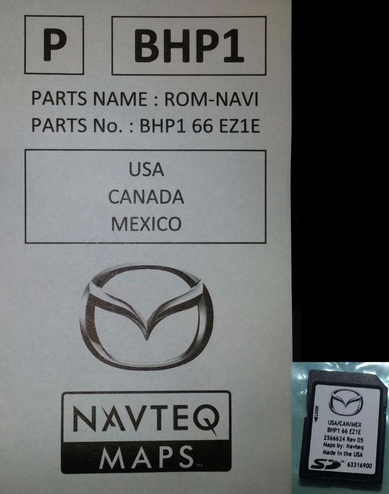 navteq map for mazda 3 2014