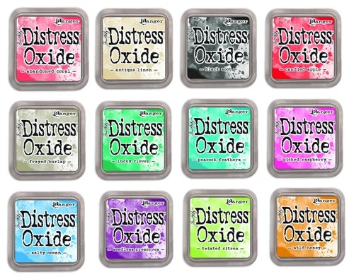 Set of 12 Distress Oxide Inks #2 Ranger
