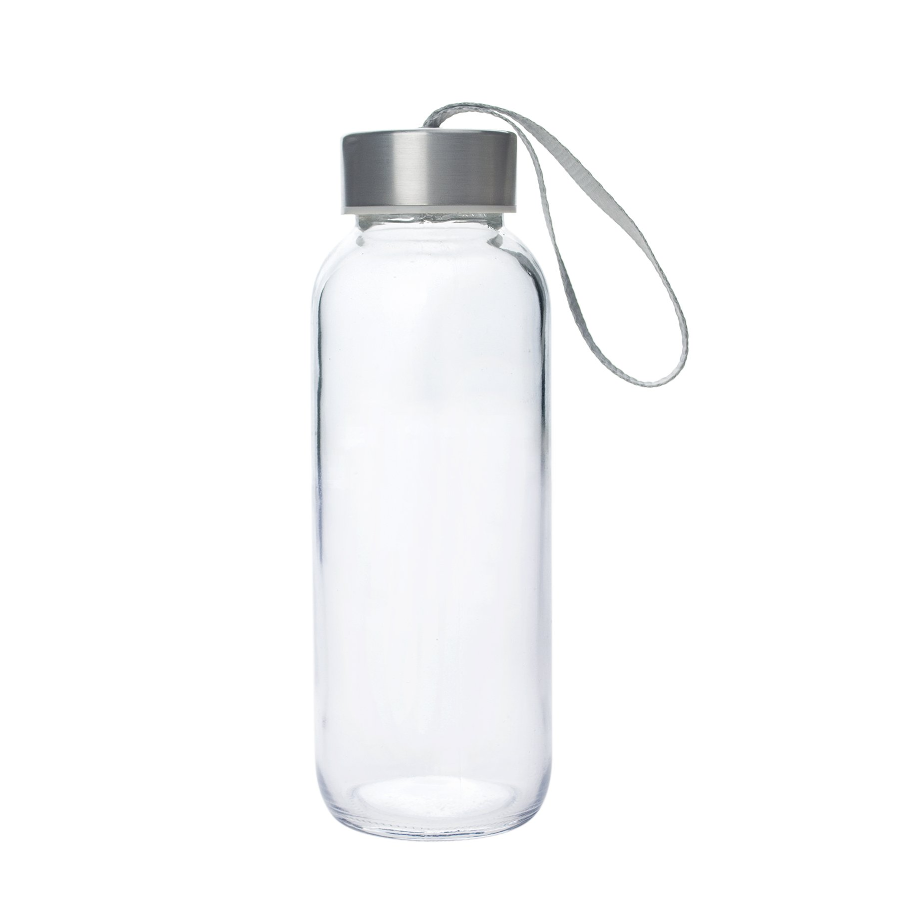 Aspire 5oz, 10oz, 14oz, 18oz Water Bottle, Stainless Steel Caps with Carrying Loop-10oz