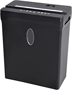 Sentinel 12-Sheet High Security Cross-Cut Paper/Credit Card Shredder with 3.3 Gallon Waste Basket (FX122B)