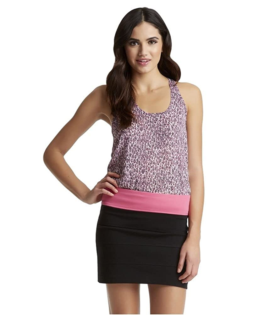 Aeropostale Womens Pretty Little Liars Aria Pop-Color Ponte Pencil Skirt