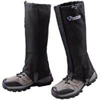 Azarxis Hiking Gaiters for Outdoor Camping Walking Backpacking Women Men Ankle Leg Guard Boot Legging Cover Snow Breathable Lightweight Waterproof Durable Wrapid Wrap Mountain Hunting Climbing