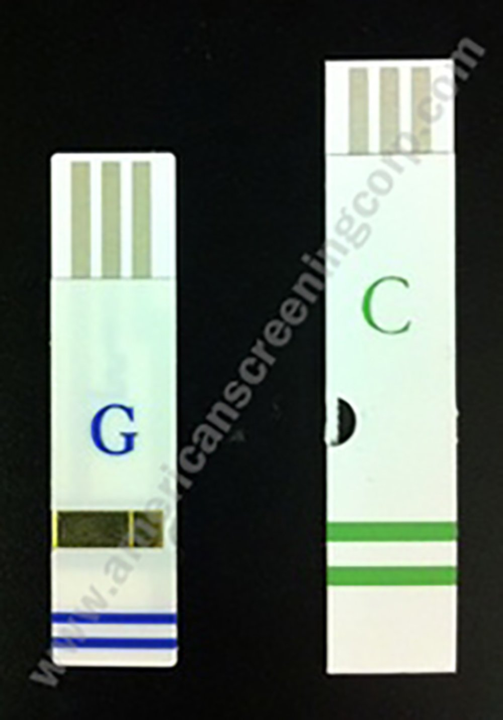Q.Steps ADMS Cholesterol Test Strips 25pcs/Pack by American screening corp