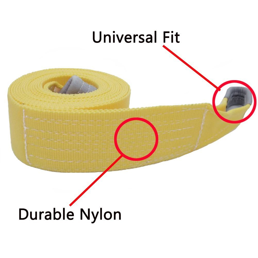 Big Ant Nylon-Seil 5-8 Tonne Kapazität Notfall Heavy Duty Offroad ...
