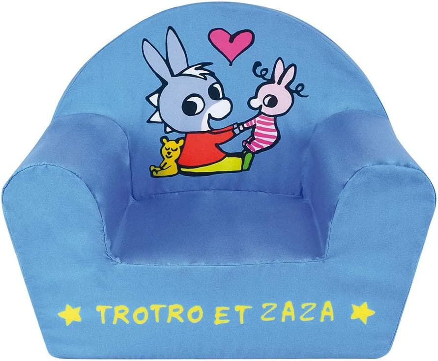 FUN HOUSE 713261 LANE TROTO ET Zaza Fauteuil Club en Mousse pour Enfant