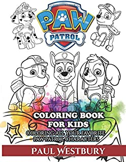paw patrol coloring book for kids coloring all your favorite paw patrol characters