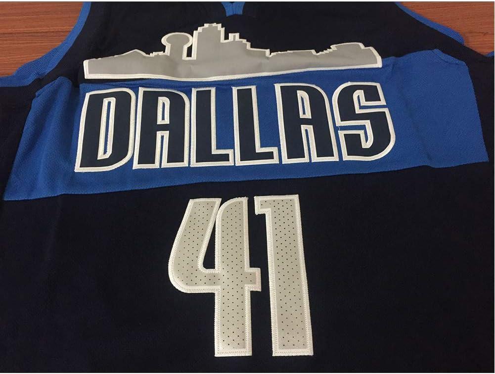 Ruimei Camiseta de Baloncesto de Los Hombres Luka Doncic Dallas Mavericks # 77 Jersey