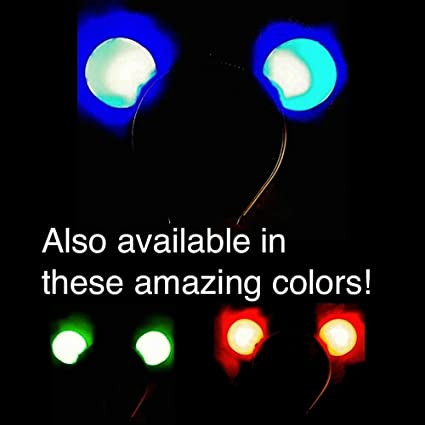 51aec2335c7 Amazon.com  Light Up Flashing Mouse Ears - A MUCH better deal than ...