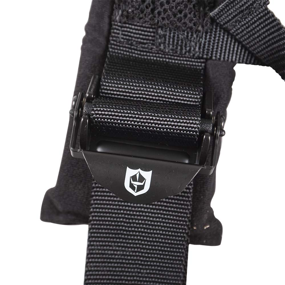 Pro Armor A114220 P151100 Black 4-Point Harness 2 Inch Straps, 4 Pack RZR UTV Seat Lap Belt with Bypass Clip by Pro Armor (Image #6)