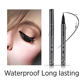 Enhanced Liquid Eyeliner with New Design, Waterproof , Perfect Precise Lines,Non-Core