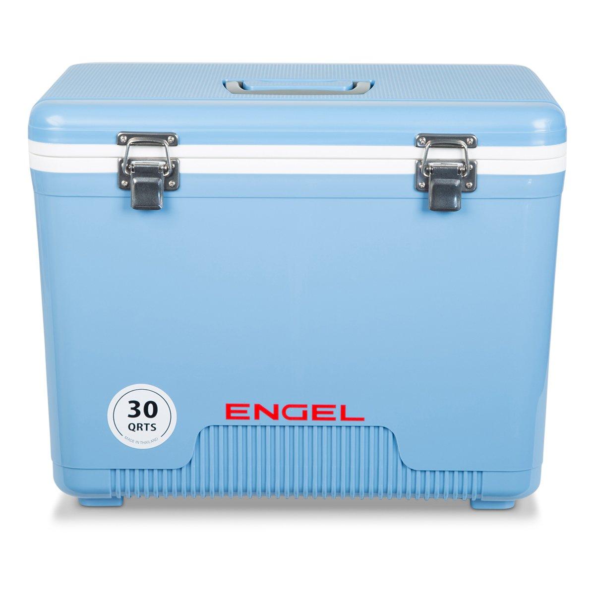 Engel Cooler/Dry Box 30 Qt - Blue