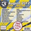 All Star Karaoke August 2012 Pop and Country Hits (ASK-1208)by Cupid