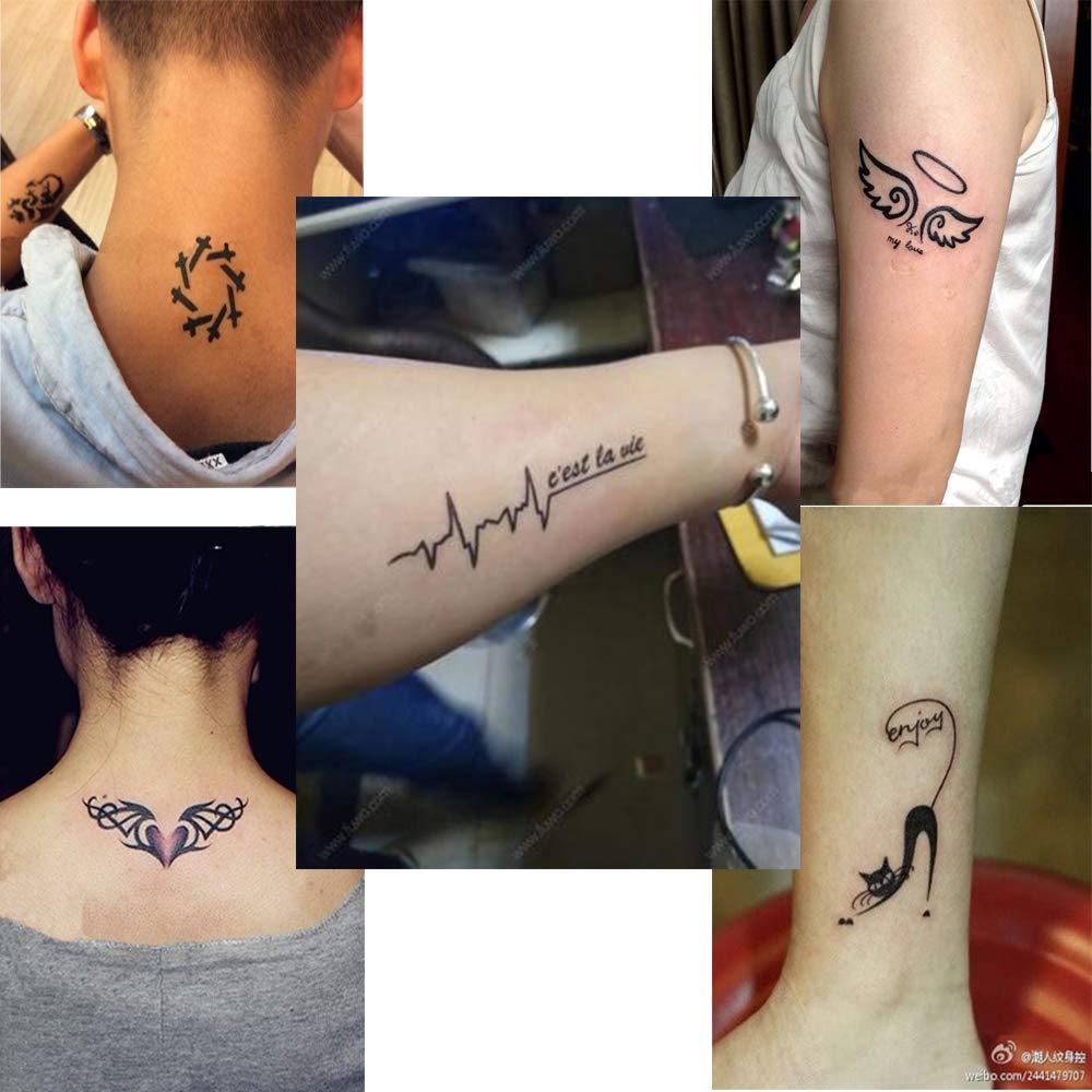 Henna Tattoo Kit, Airbrush Glitter Tattoo Stencil Kit, Henna ...