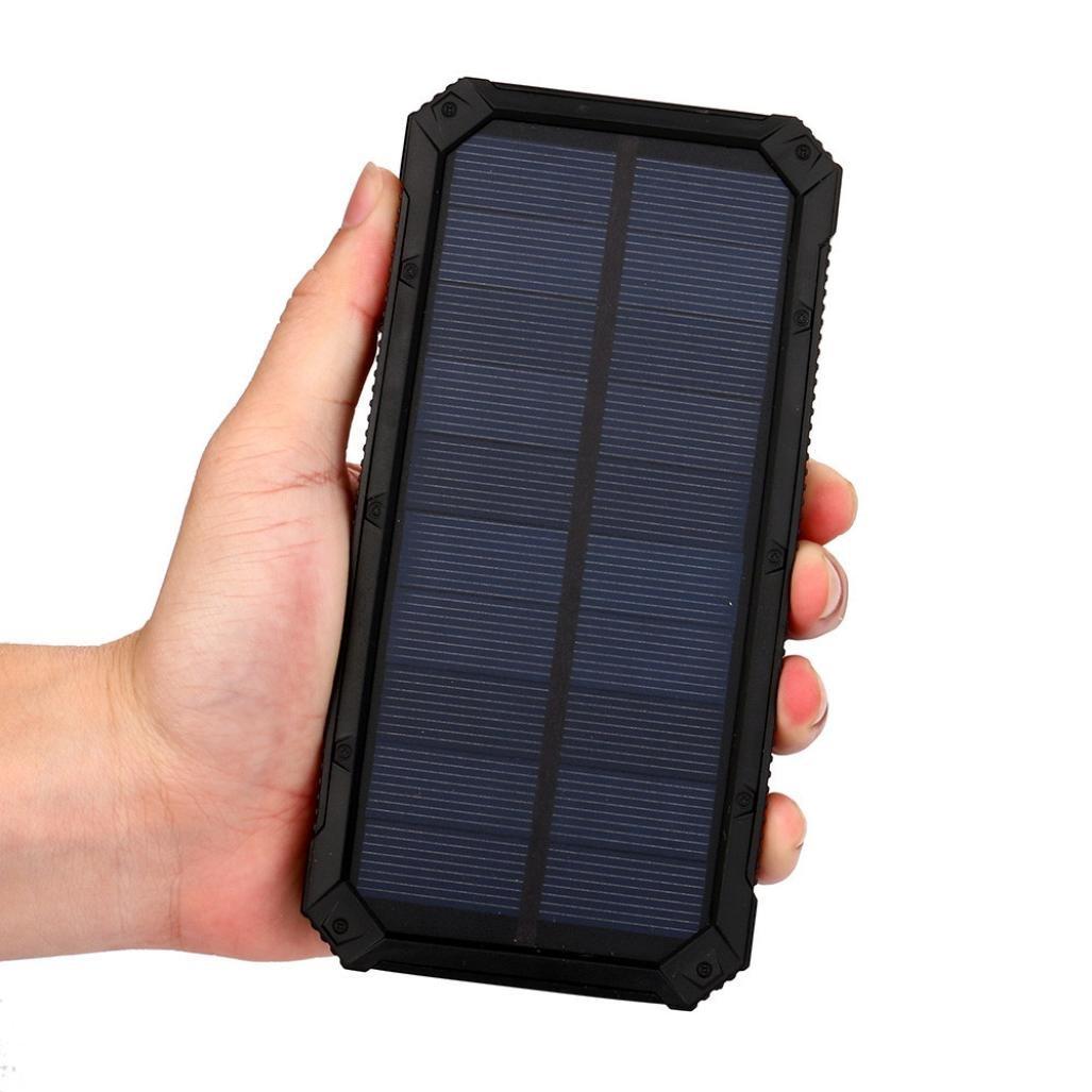 Happy Event portátil externo 20000 mAh Dual USB Solar cargador de ...