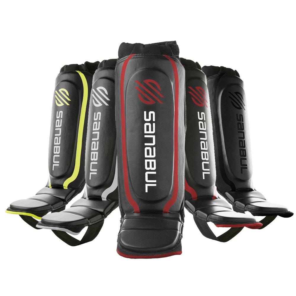 Sanabul Essential Hybrid Kickboxing MMA Shin Guards