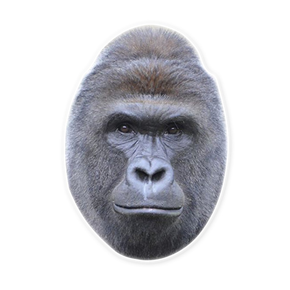 Amazon.com: Harambe The Gorilla Mask by RapMasks - 12