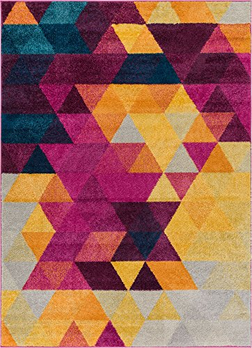 Well Woven Multi Color 5x7 (5