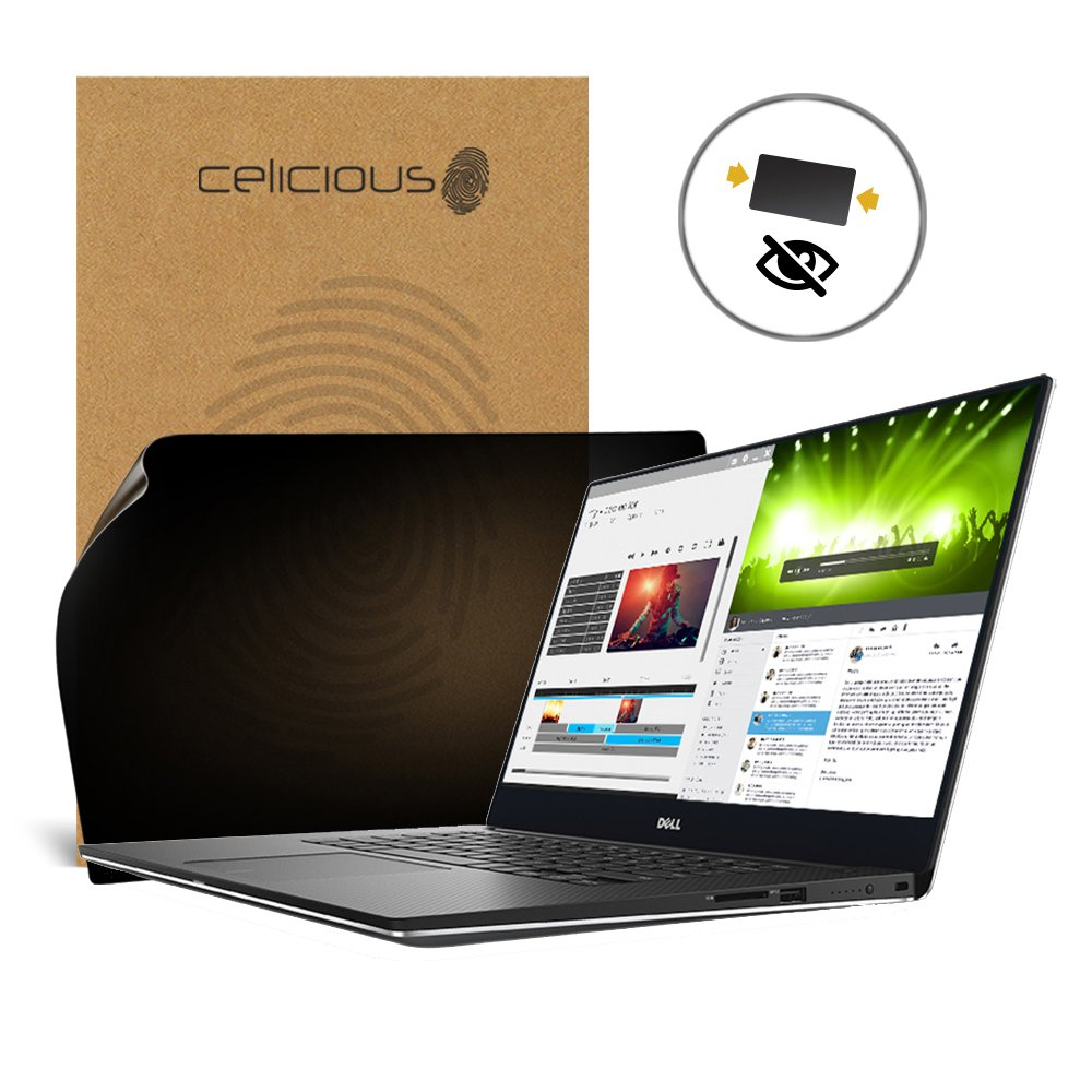 Celicious Privacy 2-Way Anti-Spy Filter Screen Protector Film Compatible with Dell XPS 15 9560 (Touch) by Celicious (Image #1)